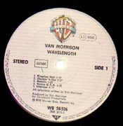 LP - Van Morrison - Wavelength