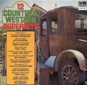 LP - Various - 12 Country & Western Superhits