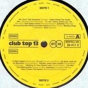 LP - Various - 16 Top Hits - Aktuellste Schlager Aus Den Hitparaden Januar/Februar 1980