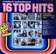 LP - Masquerade, Bee Gees, Laid Back, ... - 16 Top Hits - Aus Den Hitparaden Januar / Februar 1984
