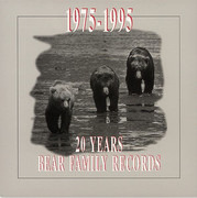 CD-Box - Bill Ramsey, James Intveld, Jon Emery - 1975-1995-20 Years Bear Family Records - + LARGE BOOKLET