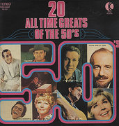 LP - Johnny Cash, Patti Page, Johnny Ray - 20 All Time Greats Of The 50's
