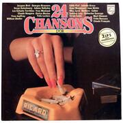Double LP - Jacques Brel, Georges Brassens, a.o. - 24 Chansons D`Or
