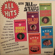 LP - Bobby Rydell, Dee Dee Sharp, Chubby Checker - All The Hits By All The Stars