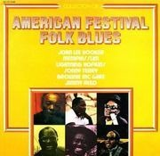 LP - John Lee Hooker, Memphis Slim, a.o. - American Festival Folk Blues