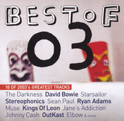 CD - The Darkness, Kings of Leon, Johnny Cash, a.o. - Best Of 03