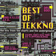 CD - D.U.K.E., P.O.N.D., a.o. - Best Of Tekkno - The Hits From The Charts And The Underground