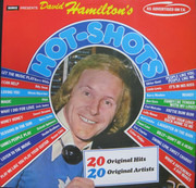 LP - Barry White / Bee Gees / Barry Manilow a.o. - David Hamilton's Hot-Shots