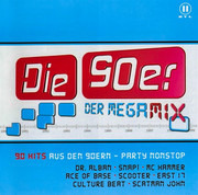 Double CD - Ace Of Base, Scooter, Culture Beat, a.o. - Die 90er Der Megamix