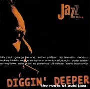 CD - Ray Barretto,Billy Paul,Deodato,Asha Puthli,u.a - Diggin' Deeper - The Roots Of Acid Jazz