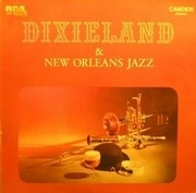 LP - Jelly-Roll Morton, King Oliver, Wingy Manone, ... - Dixieland And New Orleans Jazz