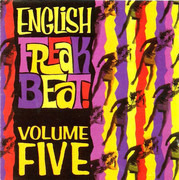 CD - Pete Best / The Peeps / etc - English Freakbeat Volume Five