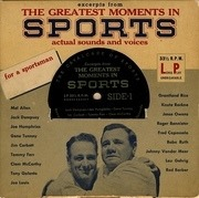 7'' - Various - Excerpts From The Greatest Moments In Sports