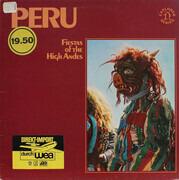 LP - David Lewiston - Fiestas Of Peru: Music Of The High Andes