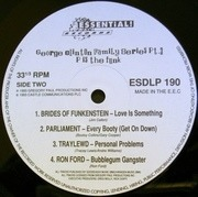 Double LP - Funkadelic, Parliament, Jimmy G - George Clinton Family Series Pt. 3: P Is The Funk