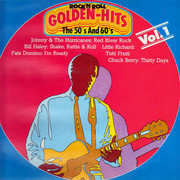 LP - Bill Haley, Little RIchard, Fats Domino, etc. - Golden Rock 'N' Roll Hits In The 50ies And 60ies Vol. 1
