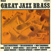 LP - Louis Armstrong, Harry James, a.o. - Great Jazz Brass