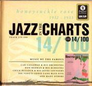 CD - Louis Armstrong & His Sebastian New Cotton Club Orchestra / Don Redman And His Orchestra - Jazz In The Charts 14/100  Honeysuckle Rose  1932 - 1933  (Track 279 - 299) - Digibook