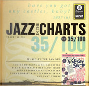 CD - Louis Armstrong / Ella Fitzgerald & Her Savoy Eight / Duke Ellington & His Orchestra - Jazz In The Charts 35/100 - Have You Got Any Castles, Baby? (1937 (6)) - Digibook
