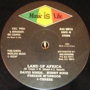 12'' - Reggae Compilation - Land Of Africa