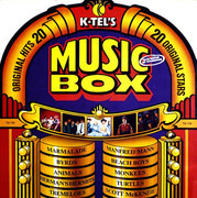 LP - Monkees, Jeff Beck and others - Music Box - die-cut sleeve