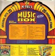 LP - Marmalade, Byrds, Manfred Mann - Music Box - Music-Box-Shaped Cover