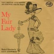 LP - Tony Britton, Anne Rogers - My Fair Lady