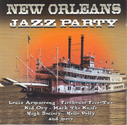 CD - Louis Armstrong / Firehouse Plus Two / a.o. - New Orleans Jazz Party