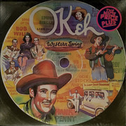 Double LP - Bob Wills, Saddle Tramps, a. o. - Okeh Western Swing