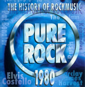 CD - The Jam / Elvis Costello & The Attractions / Rush a.o. - Pure Rock 1980 - The History Of Rockmusic