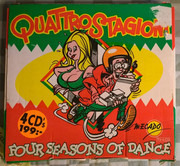 CD-Box - Faithless / Corona a.o. - Quattro Stagioni, Four Seasons Of Dance