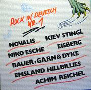 LP - Novalis, Achim Reichel, Eisberg, Niko Esche - Rock In Deutsch Nr. 1