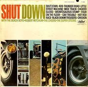 LP - The Beach Boys, Robert Mitchum, The Cheers, a.o. - Shut Down