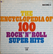 LP - Curtis Mayfield, Sly Stone, Jimi Hendrix - The Encyclopedia Of 100 Rock'N'Roll Super Hits, Record 5 - Still sealed