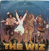 Double LP - Various - The Wiz - OST - WITH POSTER