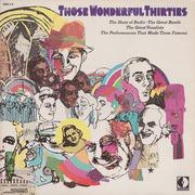 Double LP - Al Jolson, Bing Crosby... - Those Wonderful Thirties