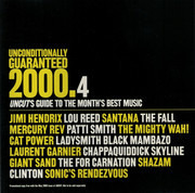 CD - Cat Power, Patti Smith, Jimi Hendrix, a.o. - Unconditionally Guaranteed 2000.4 (Uncut's Guide To The Month's Best Music)