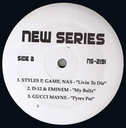 12'' - Nas, Nelly, The Game - New Series