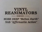 12'' - Nas, Mobb Deep - Vinyl Reanimators Remixes