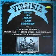 LP - Hender Saul, Leon & Carlos, Randy Spangler - Virginia Rock-A-Billy And Country