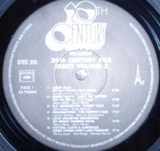 LP - Barry White / Sammy Davis / etc - 20th Century Disco Volume 2