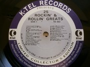 LP - Bill Haley, Everly Brothers, Little Richard ... - 25 Rockin' & Rollin' Greats