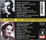 CD - Eddie Cantor / Al Martino / Merle Travis - A Time To Remember 1953