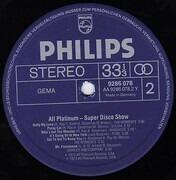 LP - Chuck Jackson, Pure, The Moments a.o. - All Platinum - Super Disco Show