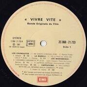 LP - Los Chunguitos, Cappuccino, Emilio De Diego - Vivre Vite - OST