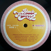 LP - Leroy Palmer, Hiromasa Sato, Manitou - Black Feeling Vol.2 - WPASITO ALLSTARS/LEROY PALMER/HIROMASA SATO/& OTH