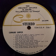 LP - Enoch Light And His Orchestra, Lew Davies And His Orchestra, a.o. - Command Records Volume 9