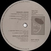 LP - Cannonball Adderley, Benny Green, Dave Pike a.o. - Dance Juice