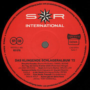 LP - Udo Jürgens, Daisy Door, Ricky Shane, Die Windows - Das Klingende Schlageralbum '72