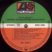 LP - Debbie Gibson, The System, War, a.o. - Fatal Beauty (Original Motion Picture Soundtrack)